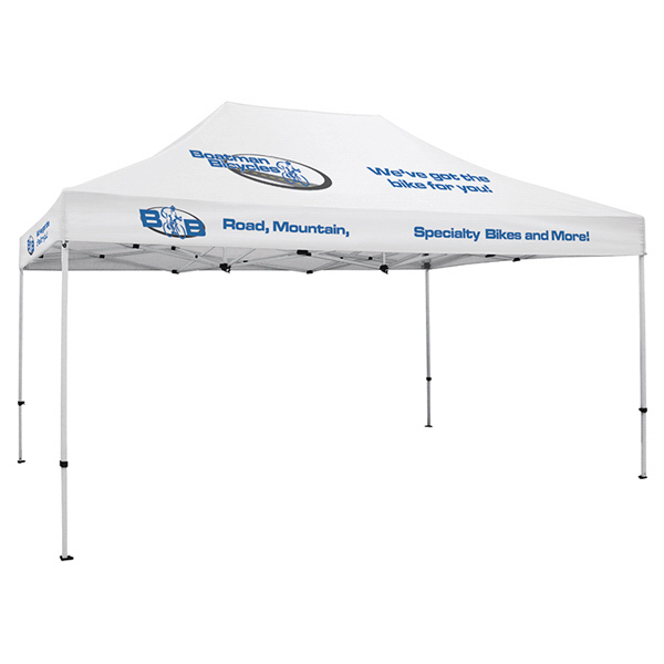 Printed ShowStopper Deluxe 10-ft x 15-ft Tent
