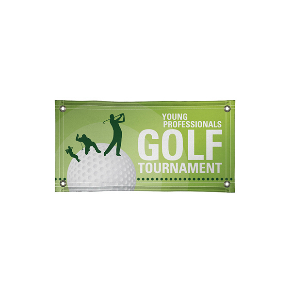 Customized 18 oz. Scrim Vinyl Exterior Banner