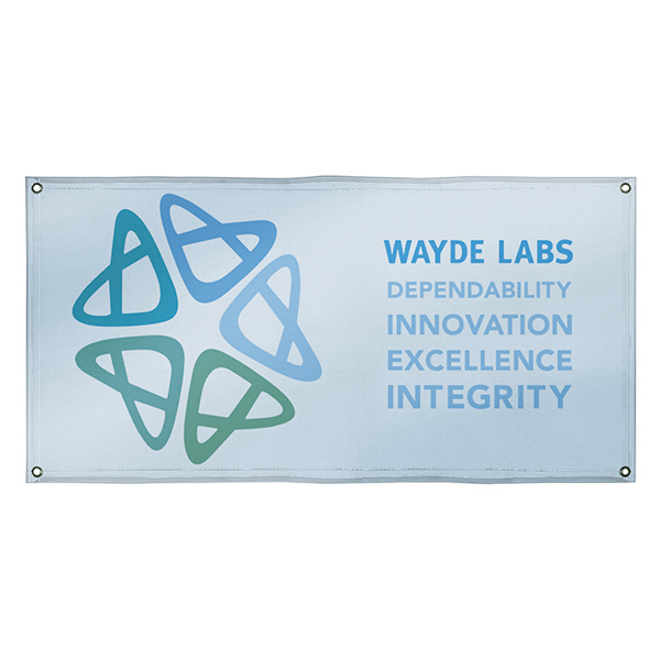 Customized 10 oz. Smooth Vinyl Interior Banner