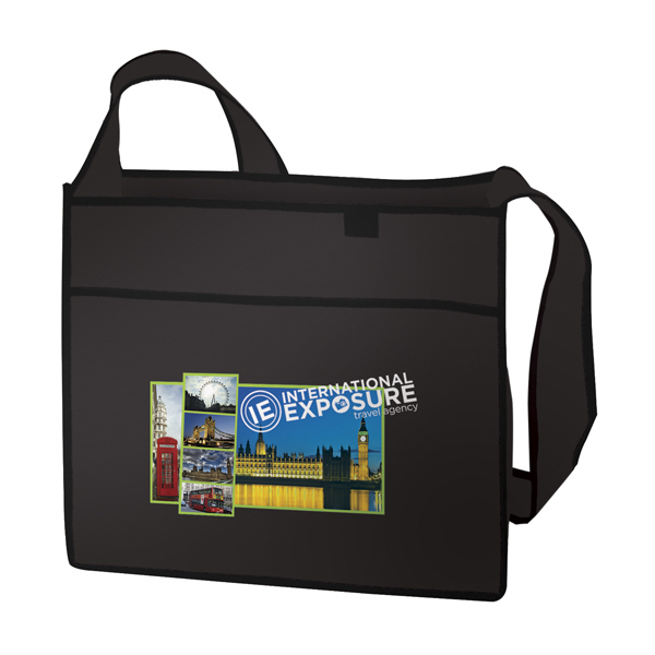 Imprinted Esprit Tradeshow Tote Full-Color Transfer