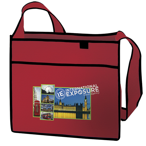 Promotional Esprit Tradeshow Tote Full-Color Transfer