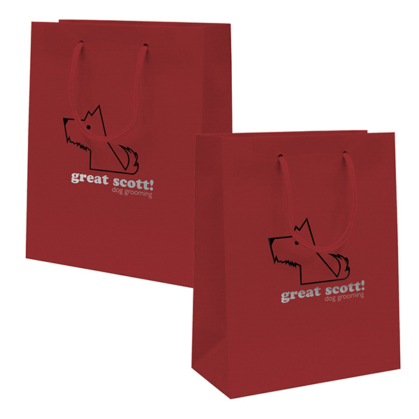 Customized Gloss EuroTote 2-Color Hot Stamp
