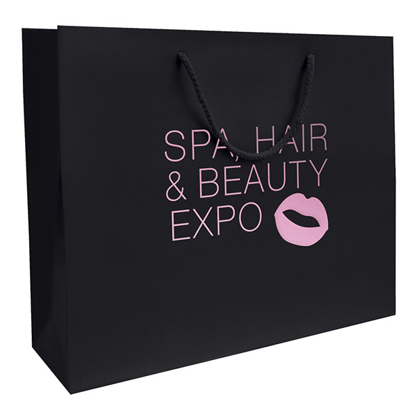 Personalized Matte EuroTote 1-Color Hot Stamp