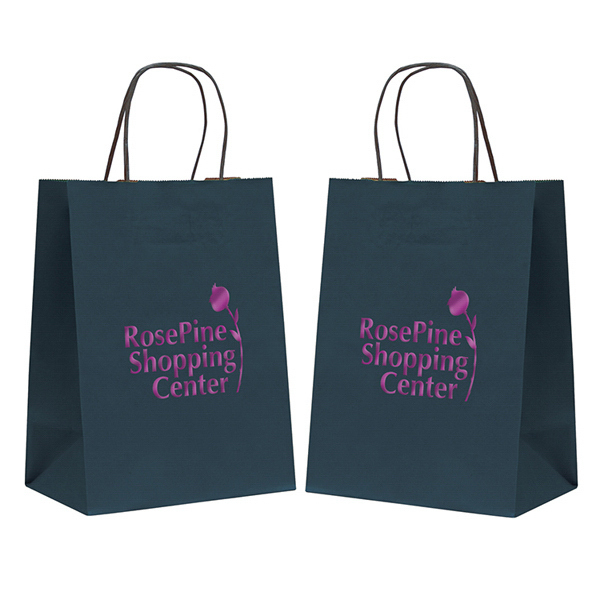 Personalized Tinted Shopper 1-Color Hot Stamp