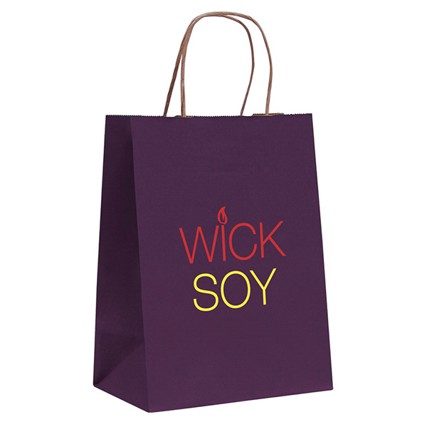 Customized Tinted Shopper 2-Color Hot Stamp