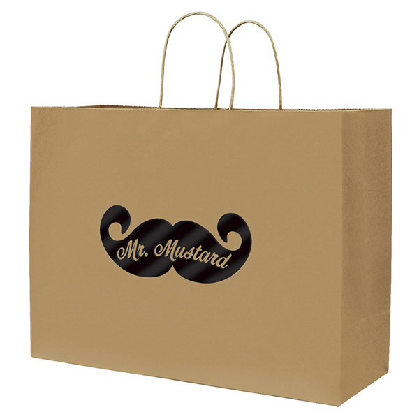 Personalized Tinted Shopper 2-Color Hot Stamp