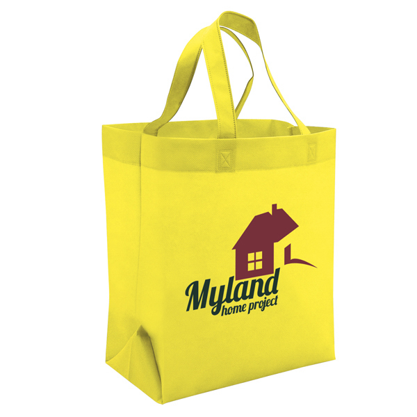 Customized Value Tote 1-Color Screen Print