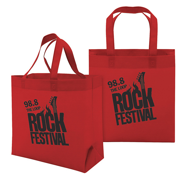 Personalized Value Tote 1-Color Screen Print