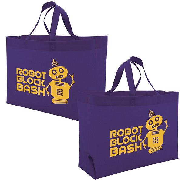 Printed Value Tote 1-Color Screen Print