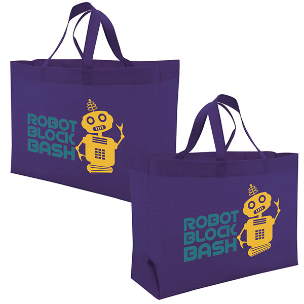 Personalized Value Tote 2-Color Screen Print