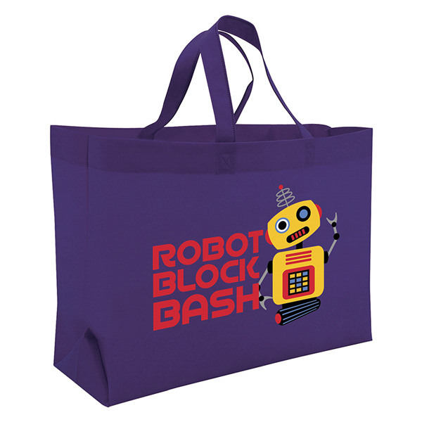 Imprinted Value Tote Full-Color Transfer