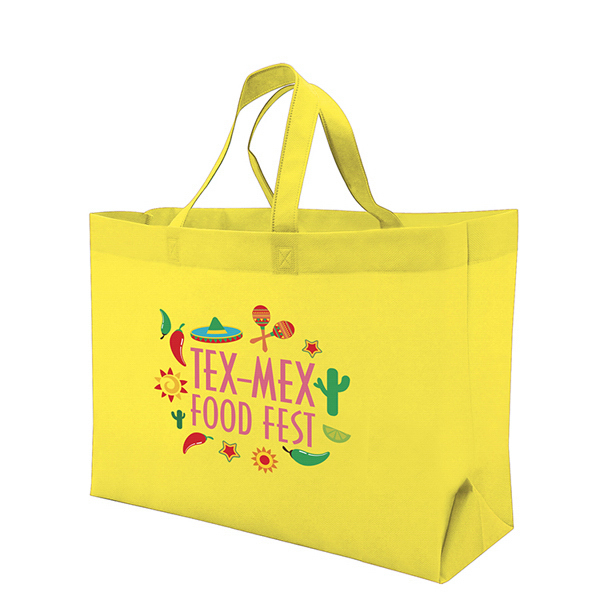 Custom Value Tote Full-Color Transfer