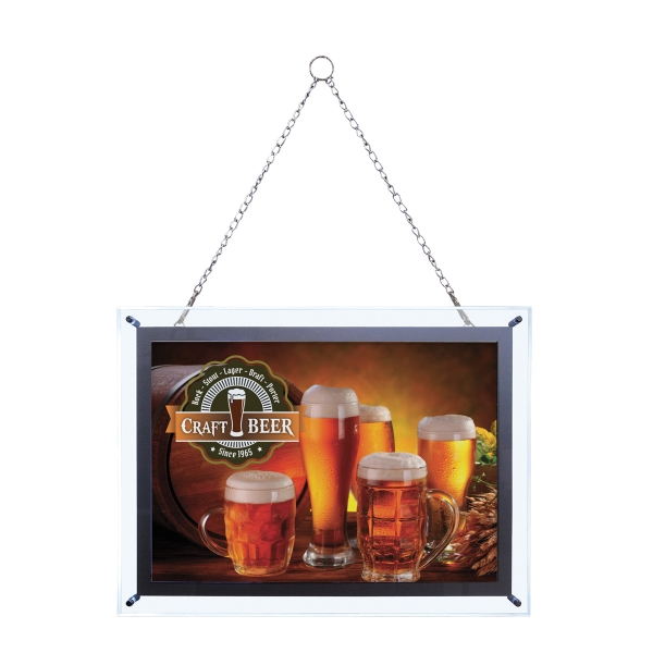 Custom 14-inch x 20-inch Crystal Edge Light Box