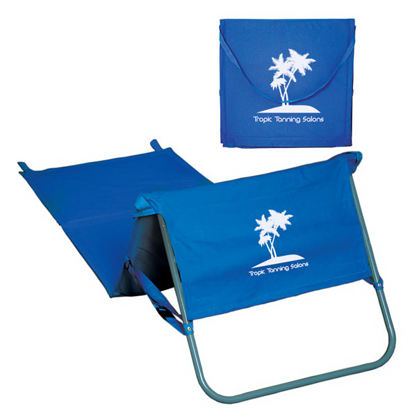Imprinted Folding beach seat