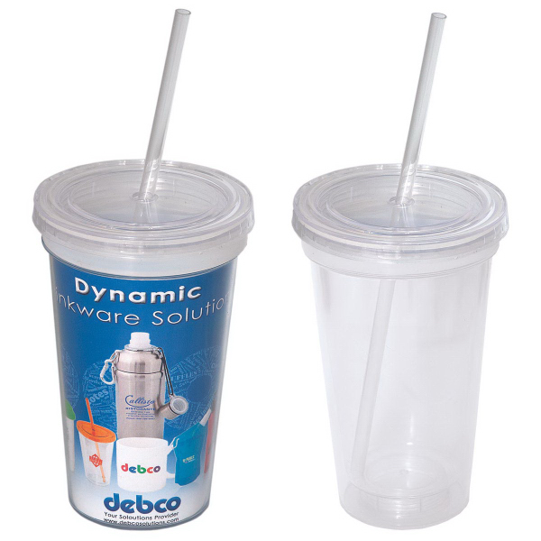 Custom 500 ml (16 oz) Double Wall Removable Tumbler