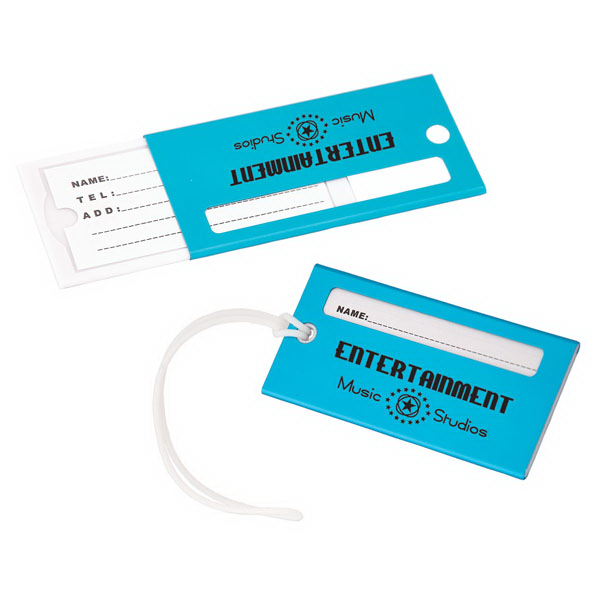 Customized Aluminum luggage tag