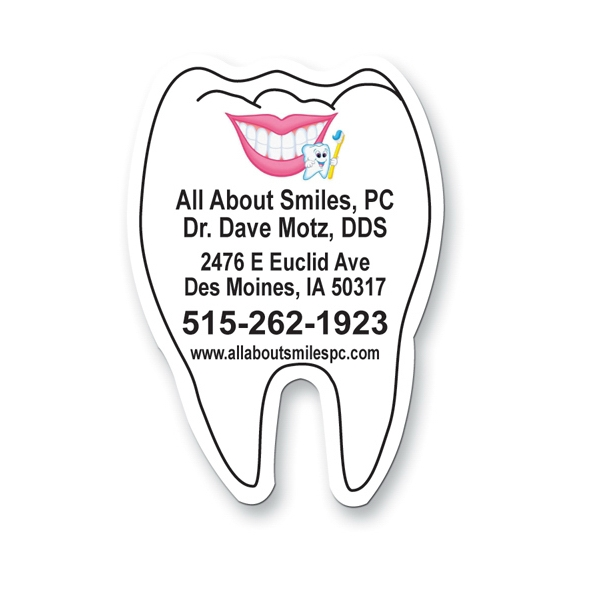 Customized Magnet - Tooth - Full Color