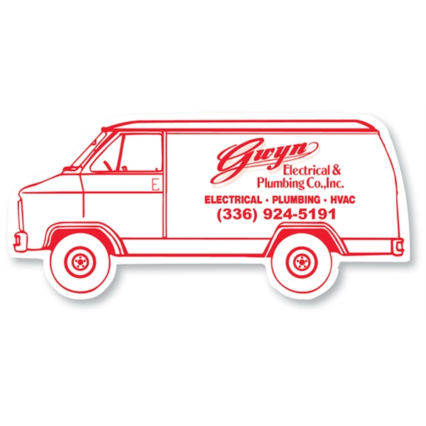 Customized Magnet - Van - Full Color