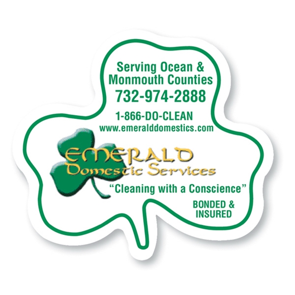 Customized Magnet - Shamrock - Full Color