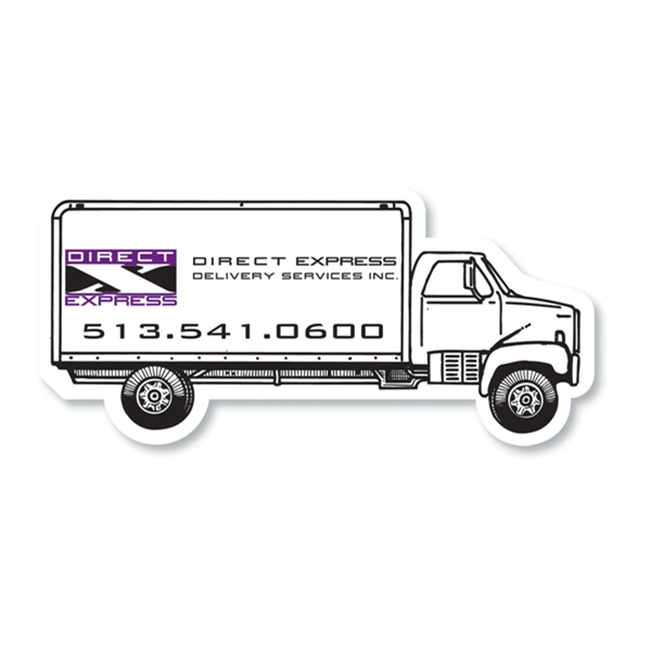 Personalized Magnet - Delivery Truck - Full Color