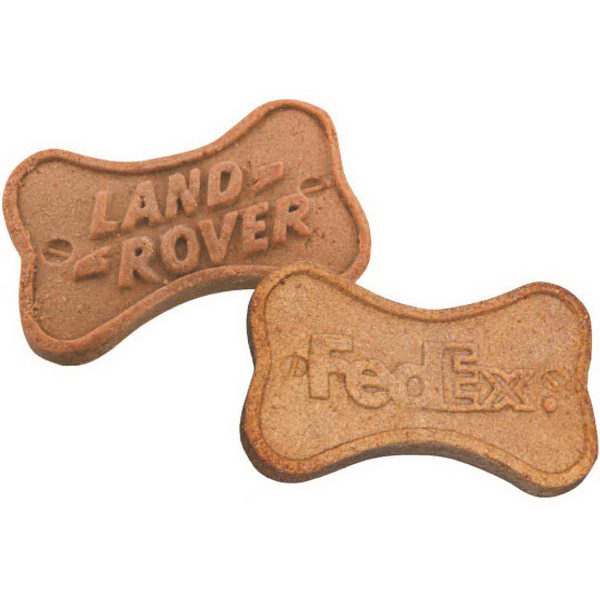 Printed Logo Dog Biscuit