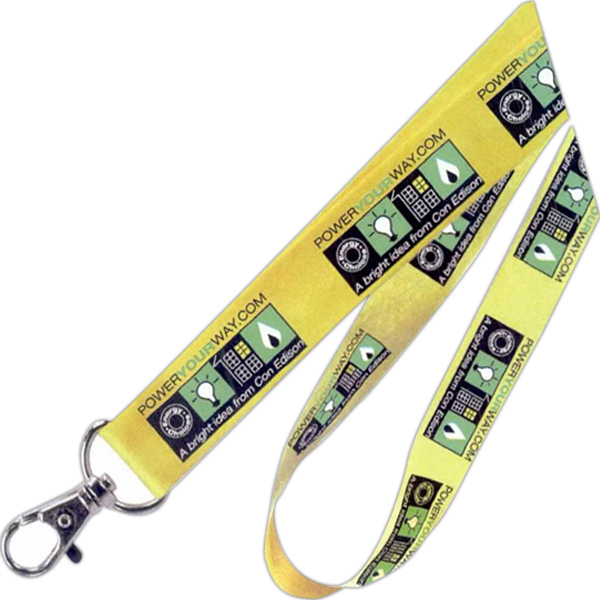 Imprinted Cotton Lanyard