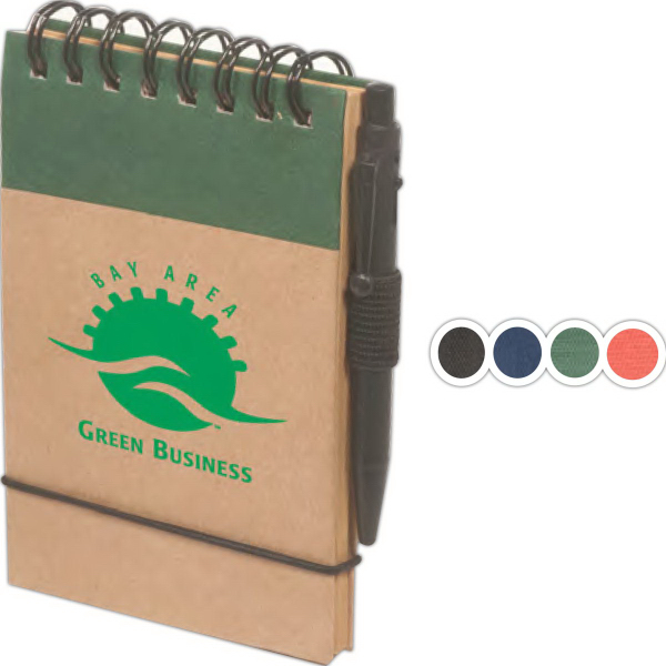Imprinted Pocket Eco-Note Keeper