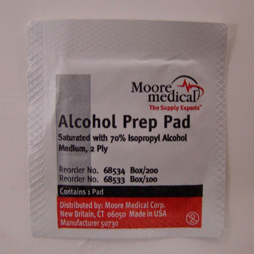 Personalized Alcohol Wipes