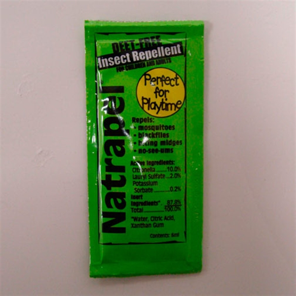 Printed Insect Repellent Packet