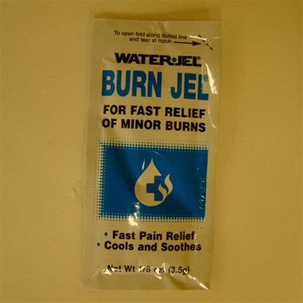 Personalized Burn Jel (R) Packet