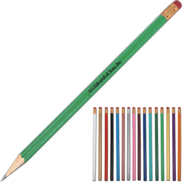 Personalized Tulip Pencil with Standard Eraser