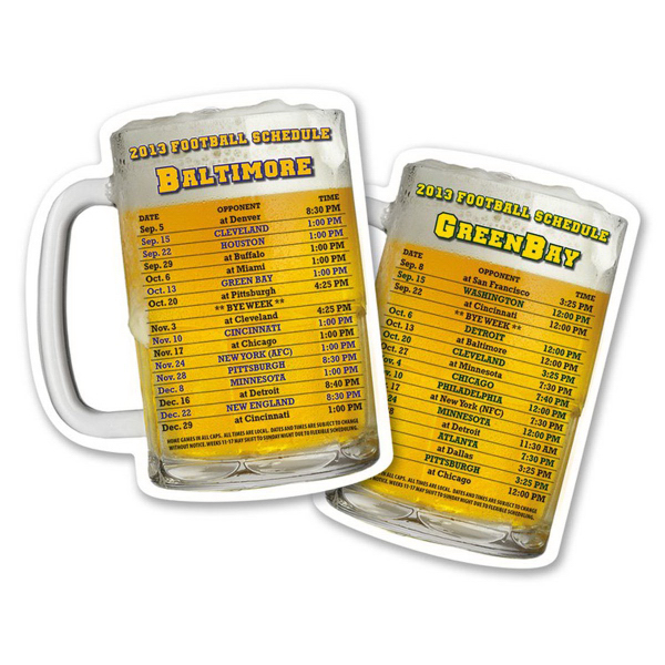 Customized Drink Coaster - 3.75x4.375 Beer Mug Shape -18 pt. Paperboard