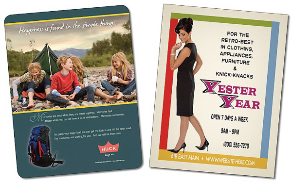 Printed Extra-Thick Laminated Card - 4x5.25 - 24 pt