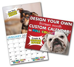 Customized 13 Month Custom Photo Appointment Wall Calendar