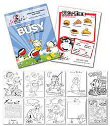 "Customized Activity Coloring Book - 8.5"" x 11"" - (12-Page General Use)"