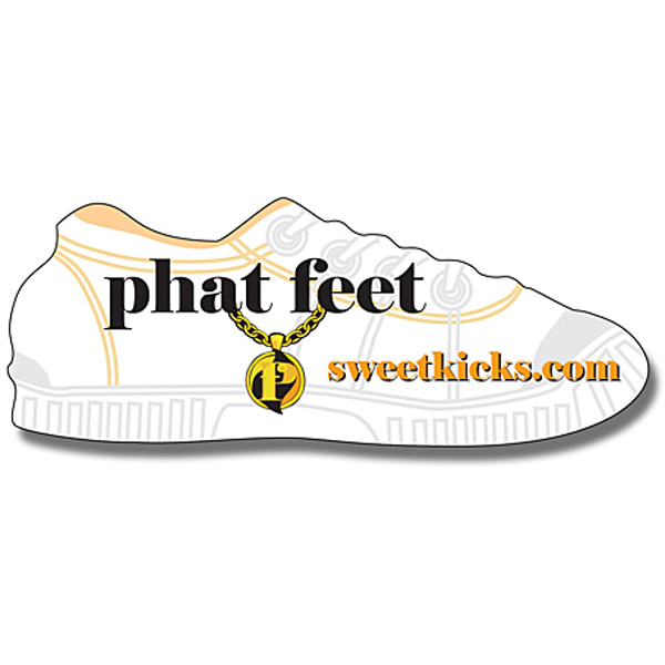 "Promotional Magnet - Shoe Shape (3.5"" x 1.359375"") - 20 Mil"