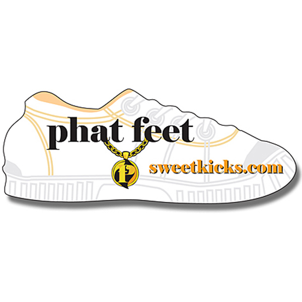 "Printed Magnet - Shoe Shape (3.5"" x 1.359375"") - 30 Mil"