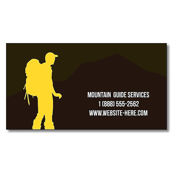 """Promotional Magnet - 3.25"""" x 1.75"""" Square Corners - 25 Mil"""