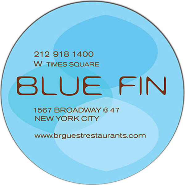 "Personalized Magnet - 2.3125"" Diameter Circle - Outdoor Safe"
