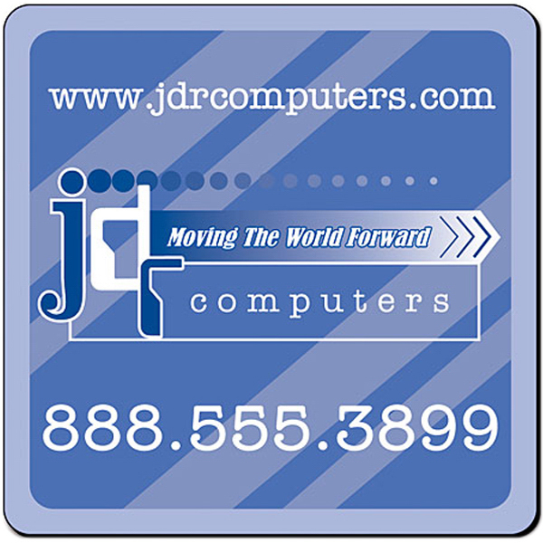 "Promotional Magnet - 2.5"" x 2.5"" Round Corners - 20 Mil"