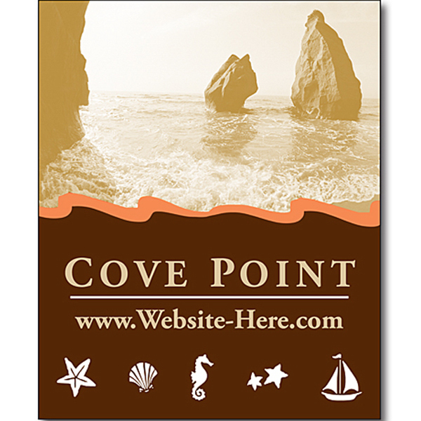 """Promotional Magnet - 2.25"""" x 2.75"""" Square Corners - 30 Mil"""