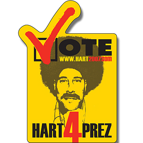 "Imprinted Magnet - Vote Shape (2.25"" x 3.25"") - 30 Mil"