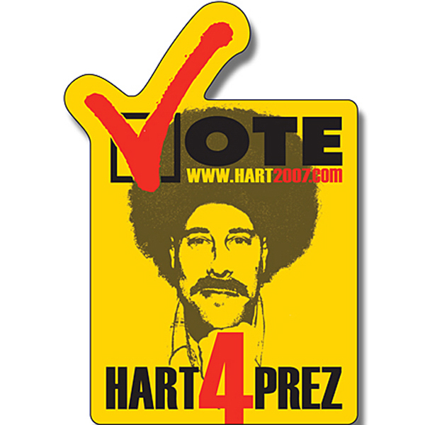 "Printed Magnet - Vote Shape (2.25"" x 3.25"") - Outdoor Safe"