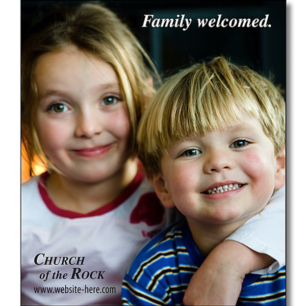 """Personalized Magnet - 2.5"""" x 2.875"""" Square Corners - 20 Mil"""