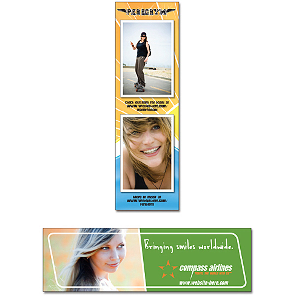 "Promotional Magnet - 1.75"" x 5.75"" Square Corners - 20 Mil"