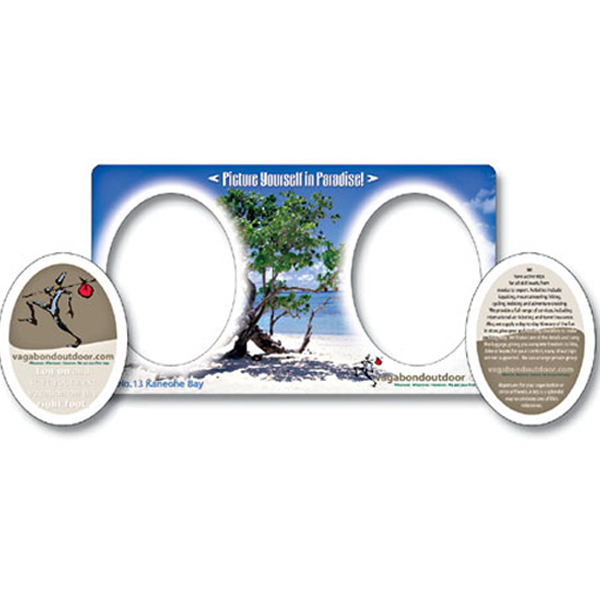 """Customized Magnet - Picture Frame Double Punch 7"""" x 4"""" - 25 Mil"""