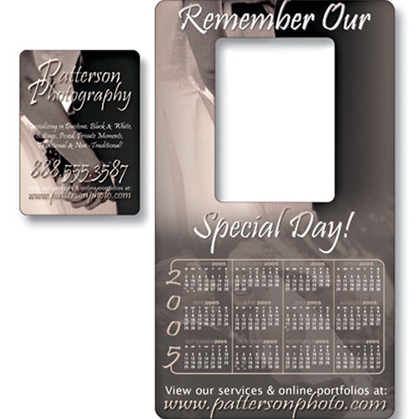 """Imprinted Magnet - Picture Frame 4"""" x 7"""" - 20 Mil"""