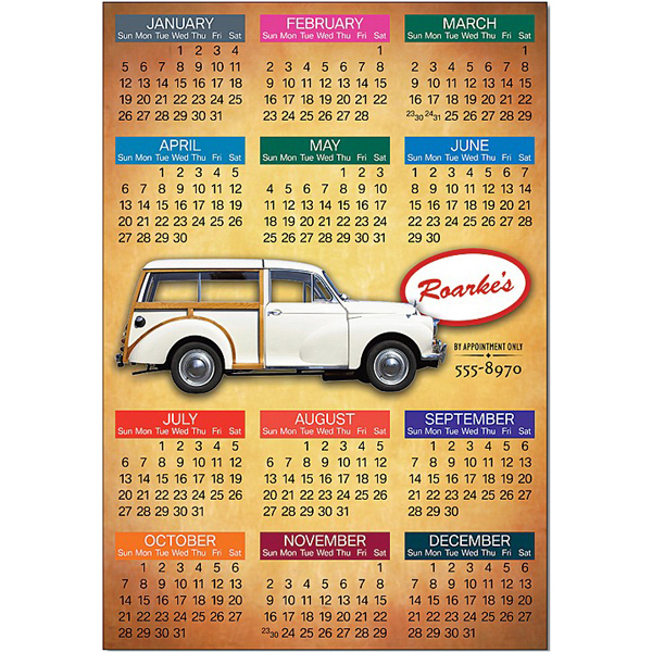 "Promotional Magnet - 4.4"" x 6.4"" Square Corners - 25 Mil"