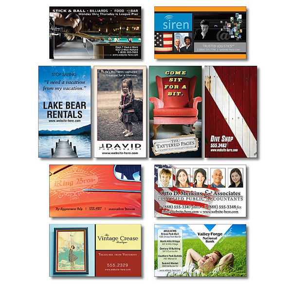 Printed Business Card Magnet - 3.5x2 (Square Corners) - Outdoor Safe