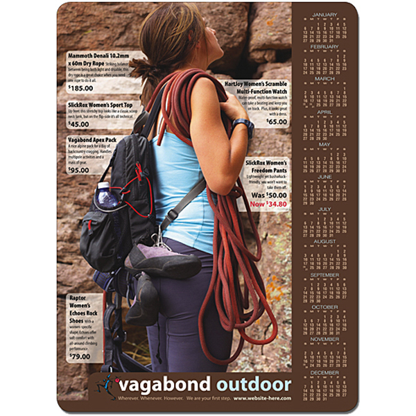 "Printed Magnet - 6.5"" x 8.875"" Round Corners - Outdoor Safe"